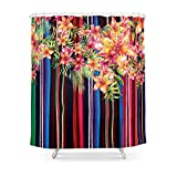 Society6 Florid Mexican Shower Curtain 71'' by 74''