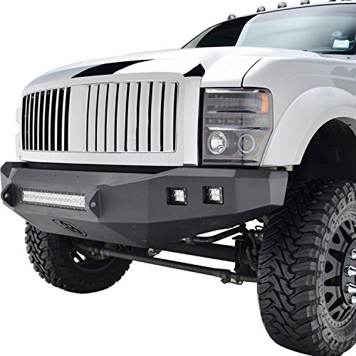 EAG 08-10 Ford F-250/F-350 Super Duty Replacement Ford Grille Chrome ABS Grill With Shell ()