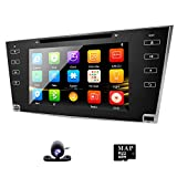 Radio CD Player for Car Touch Screen Car Stereo GPS DVD Navigation for Toyota Camry 2007 2008 2009 2010 2011 Aurion 2006-2011 in Dash Head Unit Receiver 8 inch Sat Nav with AUX input
