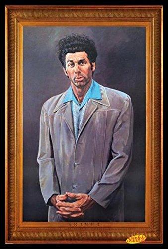 Seinfeld The Kramer Portrait Tv� Wood Framed Poster Art Print