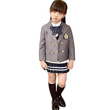 9d31aefa0f756 入学式 スーツ 女の子 男の子 スーツ キッズ フォーマル 5点セット 子供スーツ カジュアル 女の子 男の子