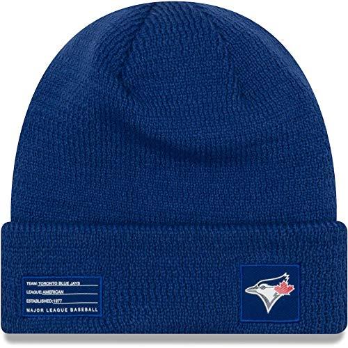 New Era Toronto Blue Jays 2018On-Field Sport Maglia MLB Knit Hat, Taglia Unica