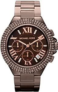 Michael Kors Women's 'Camille' Espresso Chronograph Watch - MK5665