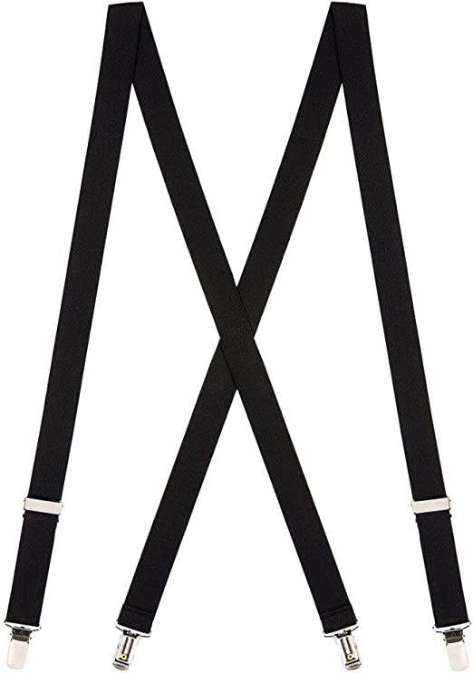 X-Back SuspenderStore Kids Solid Suspenders