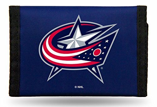 NHL Columbus Blue Jackets Nylon Trifold ()