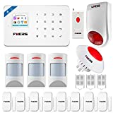 Fuers W18 GSM + WIFI Security Alarm Wireless DIY Home and Business Security System Kit Easy to Install Security Alarm System Support IOS Android Smart Phone APP Control