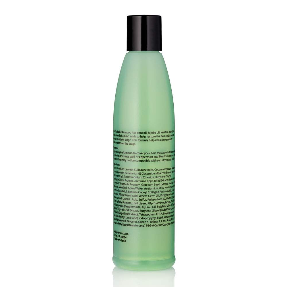 Psoriasis Shampoo - Targets Psoriasis, Eczema and Dermatitis - Helps with  Itchy and Dry Scalp