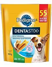PEDIGREE DENTASTIX Oral Care Dog Treats for Small Dogs - Original, 55 Sticks