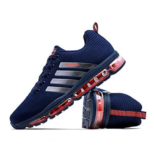 Chaussures Multisports Femme De Running Bleu Homme Trail Sport Azooken Basket Compétition Entraînement Course 1UgUwx