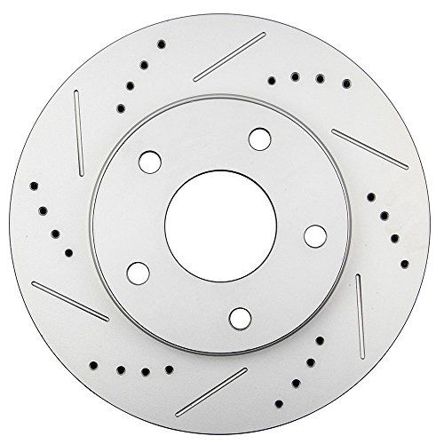 Chevrolet Brake S10 Disc (SCITOO Brake Rotors Kit Front Discs fit Chevrolet Blazer,Chevrolet S10,GMC Jimmy,GMC Sonoma,Oldsmobile Bravada)