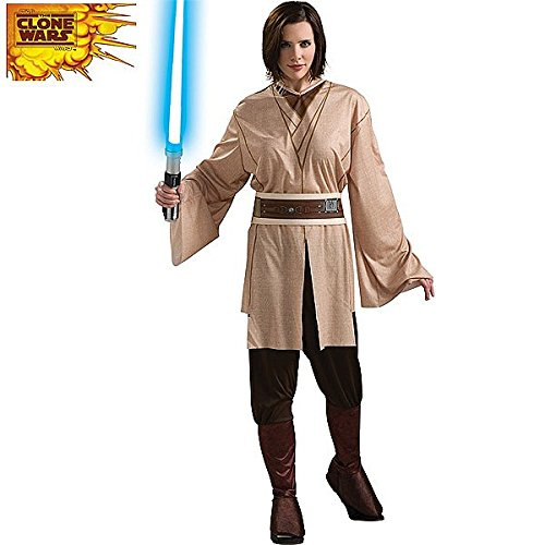 Female Jedi Adult Costume - (Plus Size Jedi Costumes)