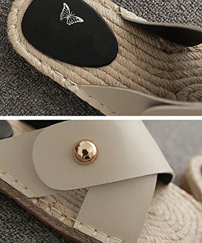 CHAOXIANG Chanclas Para Mujer Antideslizante Zapatillas De tacón alto Sandalias De Surf Nuevo Zapatos De Playa Del Verano ( Color : B , Tamaño : EU41/UK8/CN42 EU42/UK8.5/CN43 ) A