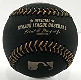 Rawlings Official Major League Memorabilia Black Baseball - ROMLBBG - 1/2 Dozen (6)
