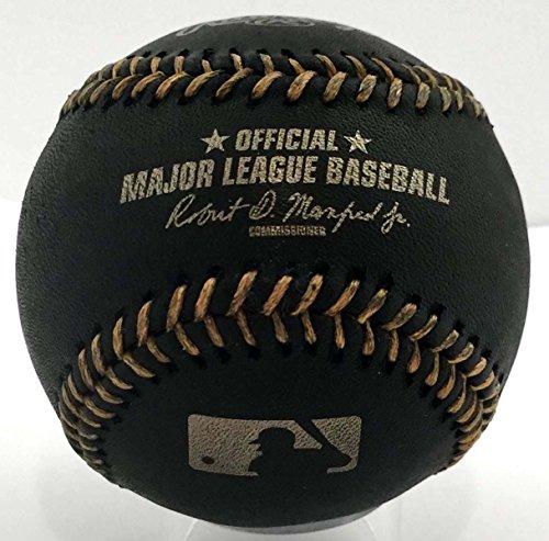 Rawlings Official Major League Memorabilia Black Baseball - ROMLBBG - 1/2 Dozen (6) by Rawlings