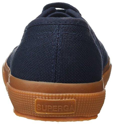 Superga Unisex Adulto-classico 2750 Scarpa Da Tennis Bianca (navy Gum)