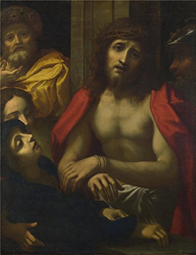 Polyster Canvas ,the Amazing Art Decorative Canvas Prints Of Oil Painting 'After Correggio Christ Presented To The People (Ecce Homo) ', 10 X 13 Inch / 25 X 33 Cm (Ecce Homo Costume Halloween)