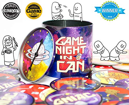 Game Night In A Can -- The Creative Party Game for All Ages -