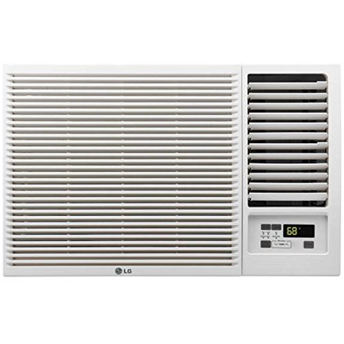 LG 12,000 BTU 230V Window-Mounted AIR Conditioner with 11,200 BTU Heat Function ()