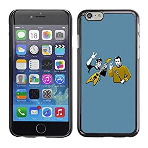 PC/Aluminum Funda Carcasa protectora para Apple Iphone 6 Cool Funny Heavy Rock Band / JUSTGO PHONE PROTECTOR