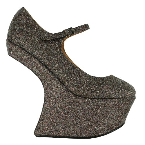 mujer gris Sensation para de gris Footwear vestir Sandalias XqTZv