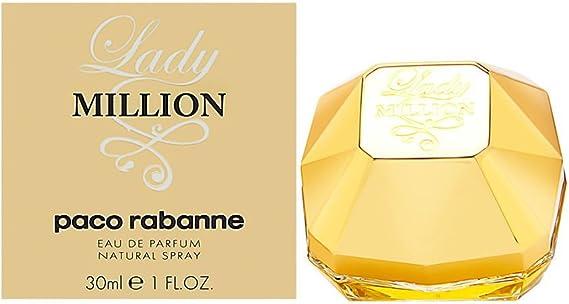 Paco Rabanne Lady Million Agua de perfume Vaporizador 80 ml: none: Amazon.es: Hogar