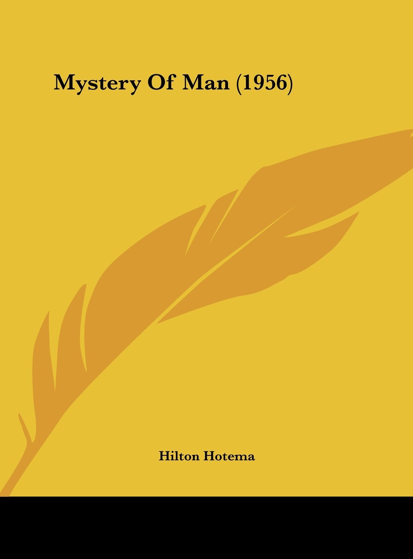 Mystery Of Man (1956) pdf epub
