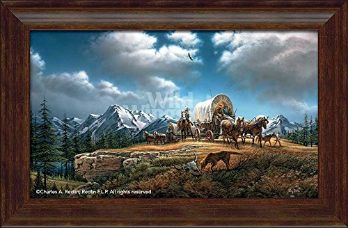 O Beautiful for Spacious Skies Framed Encore Canvas by Terry Redlin