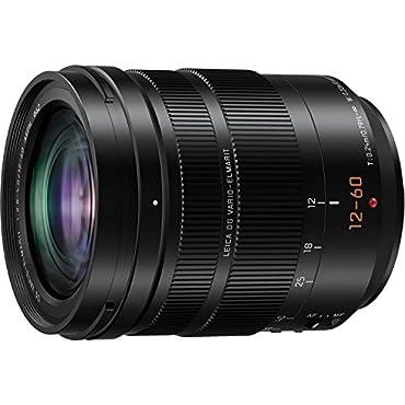 PANASONIC LUMIX G Leica DG Vario-ELMARIT Professional Lens, 12-60MM, F2.8-4.0 ASPH, MIRRORLESS Micro Four Thirds, Power O.I.S, H-ES12060 (USA Black)