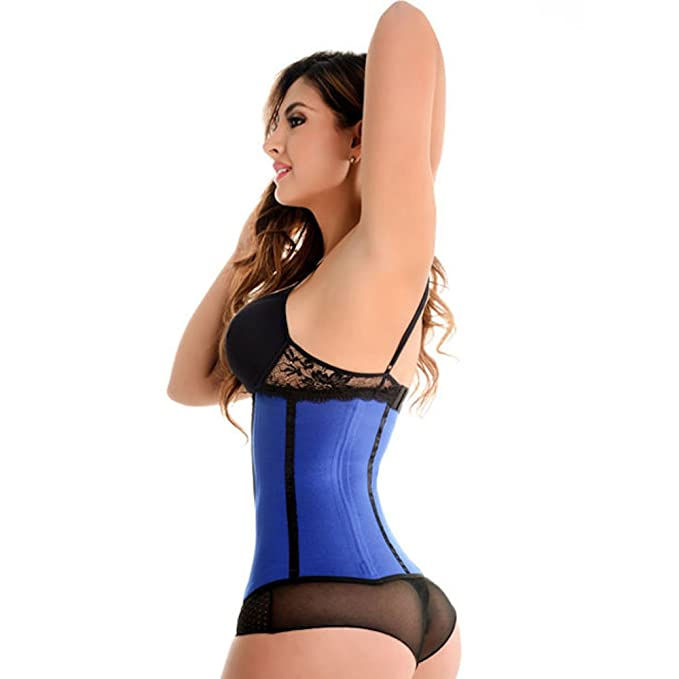 18845fbc9d Amazon.com  Thermo Slim Neoprene Waist Trainer and Clincher (XXLarge)   Sports   Outdoors