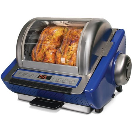Ronco EZ Store Rotisserie Oven (Blue)