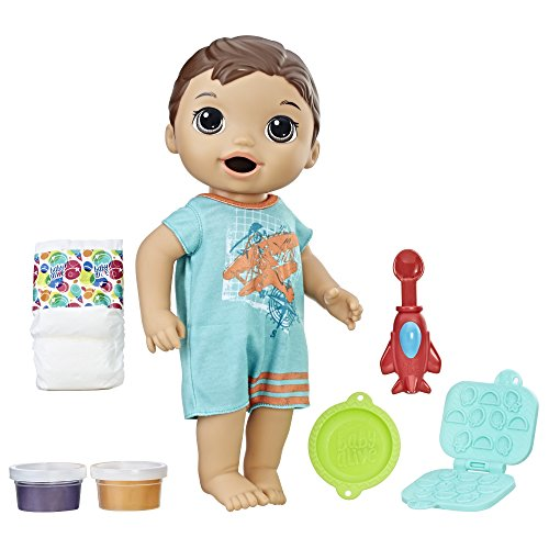 : Baby Alive Super Snacks Snackin' Luke (Brunette)