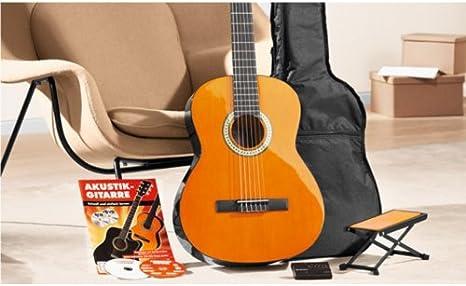 Juego de guitarra de concierto 4/4 Guitarra de concierto, 8 piezas ...