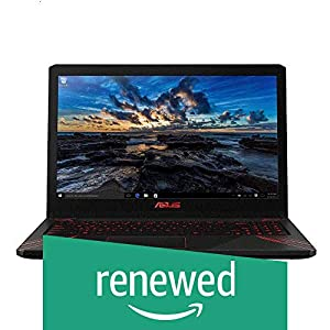 (Renewed) Asus Gaming FX570UD-E4168T 15.6-inch Laptop (8th Gen Intel Core i5-8250U Processor 1.6 GHz/8GB/1TB/Windows 10/GDDR5 4GB Graphics), Flame Red