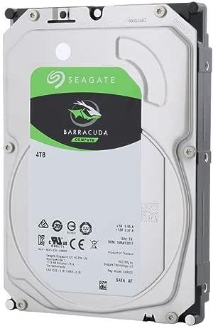 Seagate Barracuda ST4000DM004 4000GB Serial ATA III - Disco Duro (4000 GB, Serial ATA III, 3.5