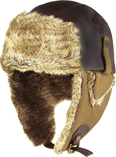 Bomber Leather Hat - 6