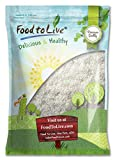 Food to Live Desiccated Coconut (Shredded, Unsweetened, No So2) (2.5 Pounds)