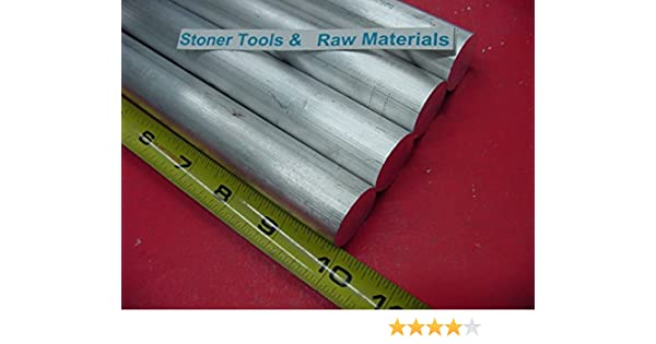 """4 Pieces 1//2/"""" ALUMINUM 6061 ROUND ROD 14/"""" long .50/"""" Solid T6511 Lathe Bar Stock"""