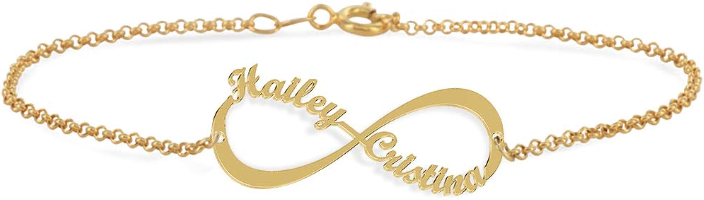 bracelet femme infini prenom