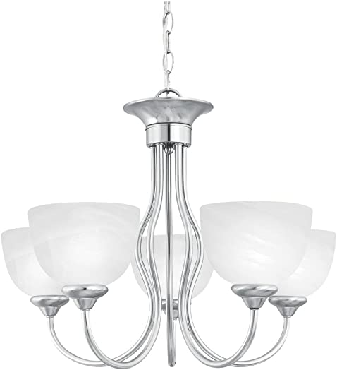 Thomas Lighting SL801578 Tahoe 5-Light Chandelier in Brushed Nickel