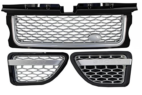 Kitt rrfga01bs central rejilla lateral ventilaci/ón negro Silver Edition
