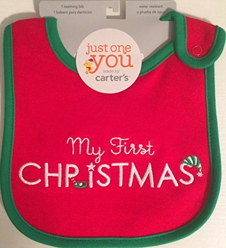 Just One You by Carter's First Christmas Bib