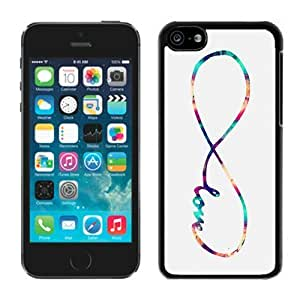 MEIMEI Infinity Love Galaxy ipod touch 5 Case Black CoverLINMM58281