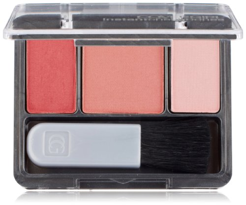 CoverGirl Instant Cheekbones Contouring Blush Refined Rose 230, 0.29-Ounce Pan (Pack of 3)