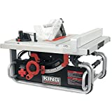 "King Canada KC-5015C 10"" Portable Worksite Table Saw"