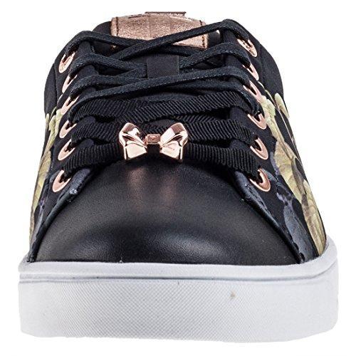 Ted Baker Ahfira Damessneakers Zwart Zwart Veelkleurig