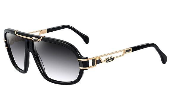 9673c8d1f4aa Amazon.com  Cazal 8018 Sunglasses Col.001 64mm Black  Clothing