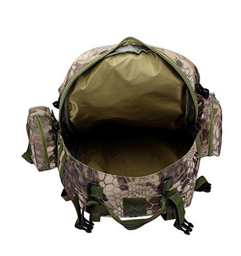 HCLHWYDHCLHWYD-mochila bolsa combinación al aire libre los hombres bolsa impermeable bolsa de viaje de gran capacidad mochila y mujeres Ma Lasong de esquí de fondo de montar mochila , 1 5