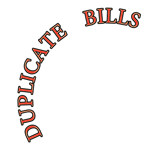 Duplicate Bills