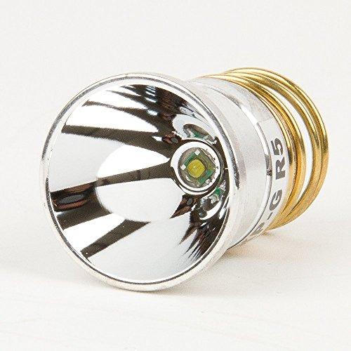 DoDoLightness Flashlight Bulb LED Upgrade - 450+ lumens - CREE R5 Single Mode Drop-in - P61 design: Surefire, Hugsby, Etc.