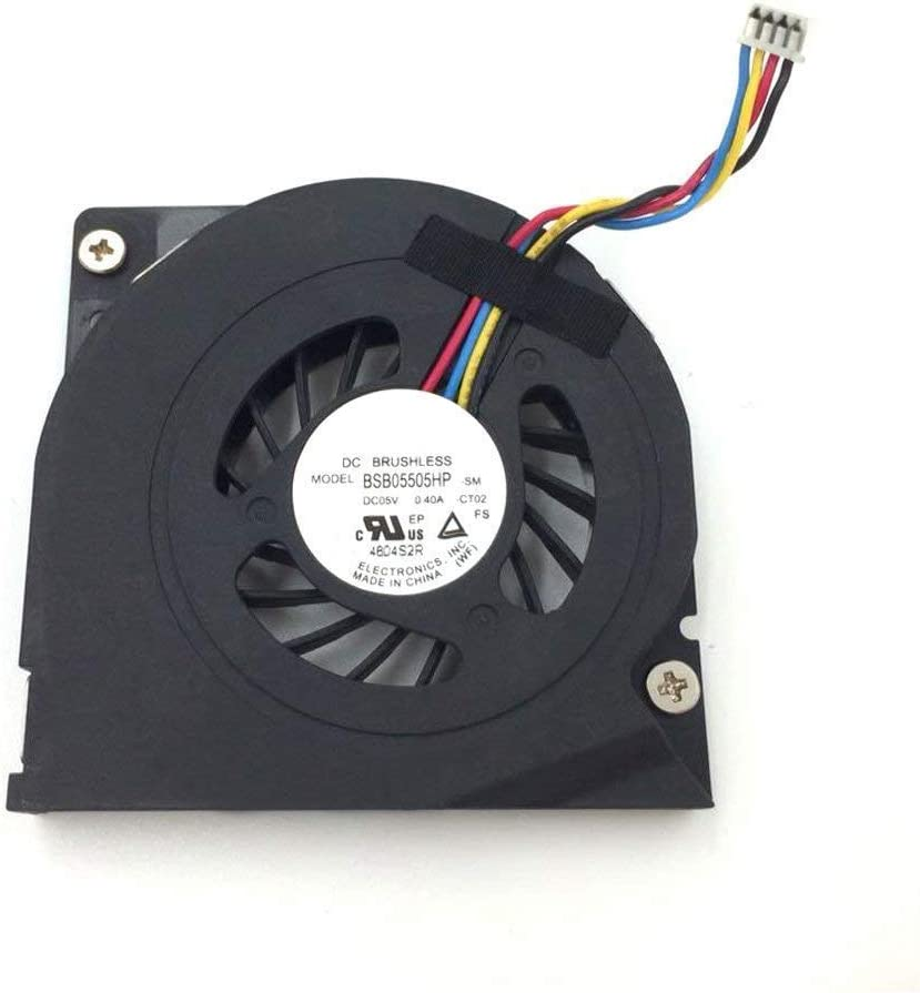 BAY Direct 5V 0.4A 4Wire Cooling Fan for Lenovo S300 S500 S700 S756 B300 B305 A4980 Compatible Part Number: BSB05505HP BASA5508R5H
